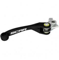 Levier de Frein Retournable Scar Moto pour KTM EXC125 (14-16) EXC200 (14-16) EXC250 (14-18) EXC300 (14-18) EXC450 (14-16)