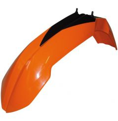 Garde Boue Avant Orange RaceTech Moto pour KTM SX125 (00-12) SX144 (00-08) SX150 (09-12) SX200 (00-06) SX250 (00-12)