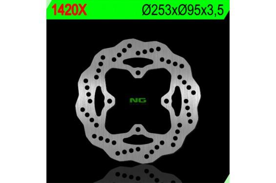 Disque de Frein Wave Quad - SSV Avant NG Brake pour Arctic Cat 700 i HDX Prowler (11-16)