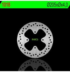 Disque de Frein Quad - SSV Avant NG Brake pour Can Am Outlander 400 H.O. - XT - Max (03-06)