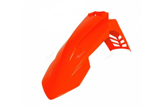 Garde Boue Avant Orange fluo RaceTech Moto pour KTM EXC-F250 (17-20) EXC-F350 (17-20) EXC-F450 (17-20) EXC-F500 (17-20)