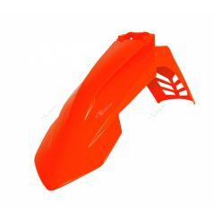 Garde Boue Avant Orange fluo RaceTech Moto pour KTM EXC250 (17-20) EXC300 (17-20)