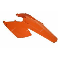 Garde Boue Arrière + Plaques Latérales Orange RaceTech Moto pour KTM EXC-F250 (08-11)