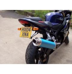 Support de plaque R&G Suzuki GSXR 600 et 750 (04-05)