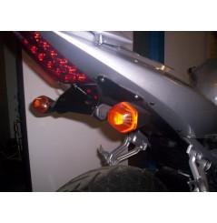 Support de plaque Moto R&G pour Suzuki SV650 (03-06) et SV1000 (03-09)