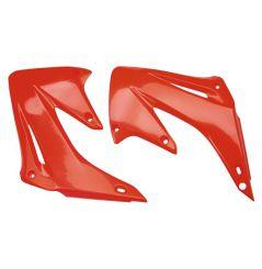 Ouies de Radiateur Rouge RaceTech Moto pour Honda CR125 R (02-07) CR250 R (02-07)