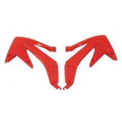 Ouies de Radiateur Rouge RaceTech Moto pour Honda CRF450 R (05-08)