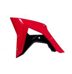 Ouies de Radiateur Rouge et Noir RaceTech Moto pour Honda CRF250 R (18) CRF450 R (17-18)