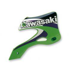 Ouies de Radiateur Vert RaceTech Moto pour Kawasaki KX125 (99-02) KX250 (99-02)