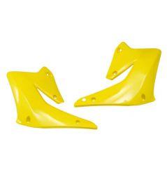 Ouies de Radiateur jaune RaceTech Moto pour Suzuki RM-Z450 (07)