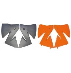 Ouies de Radiateur Orange ou Argent RaceTech Moto pour KTM EXC125 (01-02) EXC200 (01-02) EXC250 (01-02) EXC300 (01-02)