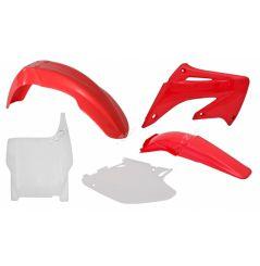Kit Plastique RaceTech pour Moto Honda CR125 R (04-07) CR250 R (04-07)