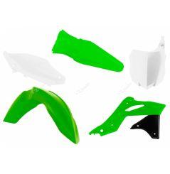 Kit Plastique RaceTech pour Moto Kawasaki KX250 F (13-16) | Vert fluo