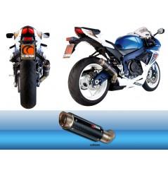 Silencieux Scorpion RP-1 GP Carbone Suzuki GSXR 600 et 750 (11-18)