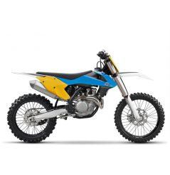 Kit Plastique RaceTech pour Moto KTM SX-F250 (16-18) SX-F350 (16-18) SX-F450 (16-18) | Edition Vintage Bleu Jaune