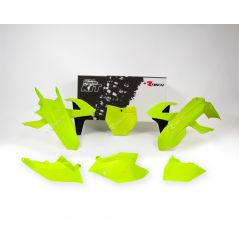 Kit Plastique RaceTech pour Moto KTM SX-F250 (16-18) SX-F350 (16-18) SX-F450 (16-18) | Jaune fluo