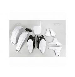 Kit Plastique UFO pour Moto Yamaha YZ450 F (11-13) - Couleur Blanc