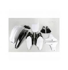 Kit Plastique UFO pour Moto Yamaha YZ450 F (11-13) - Couleur Blanc / Noir