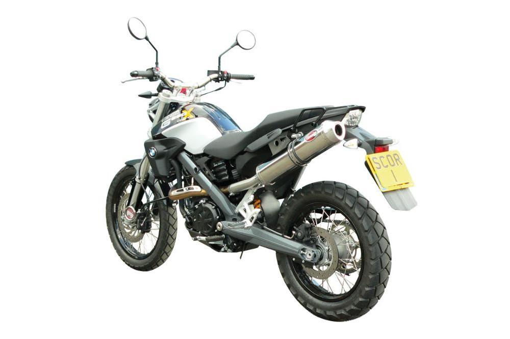 silencieux scorpion factory ovale titane bmw g650x challenge 07 10 street moto piece. Black Bedroom Furniture Sets. Home Design Ideas