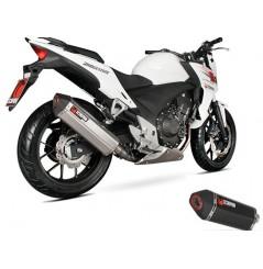 Silencieux Scorpion Serket Inox Honda CB 500 2013
