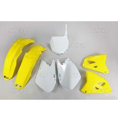 Kit Plastique UFO pour Moto Suzuki RM125 (06-12) RM250 (06-12) - Couleur Origine
