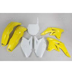 Kit Plastique UFO pour Moto Suzuki RM-Z250 (07-08) - Couleur Origine