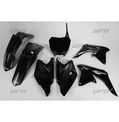 Kit Plastique UFO pour Moto Suzuki RM-Z250 (11-18) - Couleur noir