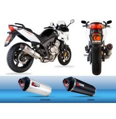 Silencieux Scorpion Serket Carbone Honda CBF 600 06/13