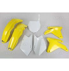 Kit Plastique UFO pour Moto Suzuki RM-Z450 (08) - Couleur Origine