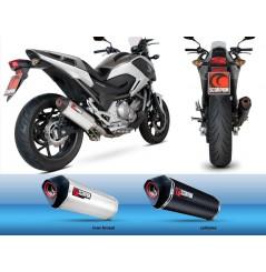 Silencieux Scorpion Serket Carbone Honda NC700 (12-13)