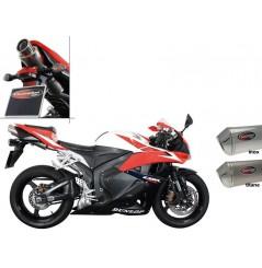 Silencieux Scorpion Stealth Inox Honda CBR 600 RR 09/12