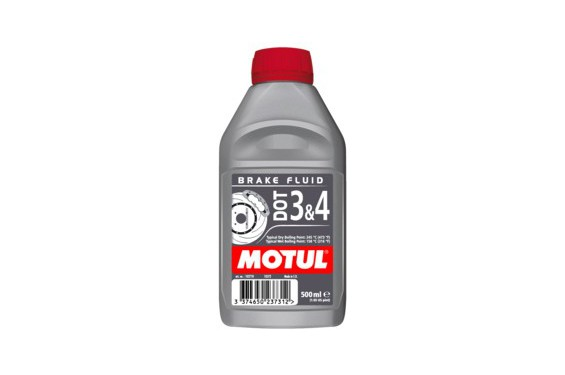 liquide de frein motul dot 3 4 brake fluid pour moto 0 5l street moto piece. Black Bedroom Furniture Sets. Home Design Ideas