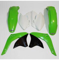 Kit Plastique UFO pour Moto Kawasaki KX450 F (06) - Couleur Origine