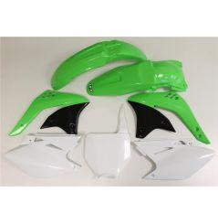 Kit Plastique UFO pour Moto Kawasaki KX450 F (07) - Couleur Origine