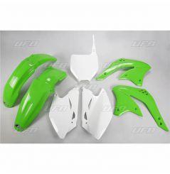 Kit Plastique UFO pour Moto Kawasaki KX450 F (08) - Couleur Origine