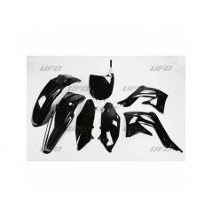Kit Plastique UFO pour Moto Kawasaki KX450 F (12) - Couleur Noir