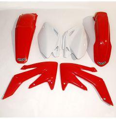 Kit Plastique UFO pour Moto Honda CRF250 R (04-05) - Couleur Origine