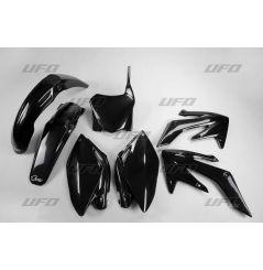 Kit Plastique UFO pour Moto Honda CRF250 R (09) - Couleur Noir
