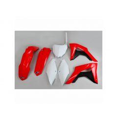 Kit Plastique UFO pour Moto Honda CRF450 RX (17-18) - Couleur Origine