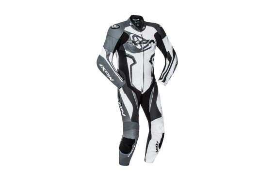 Combinaison Racing IXON FALCON Noir - Blanc - Gris