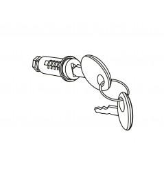Cylindre Barillet + 2 clés Top Case Shad SH48-SH49-SH50-SH58X-SH59X