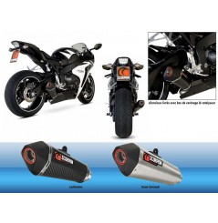 Silencieux Scorpion Serket Inox Honda CBR 1000 RR 08/11