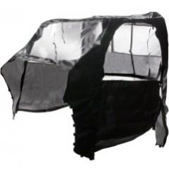 Protection Cabine Toit - Porte Souple MOOSE pour SSV Polaris RZR 800 (08-14)