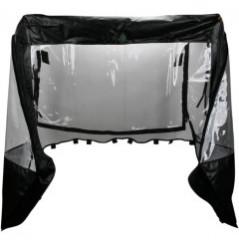 Protection Cabine Toit - Porte Souple MOOSE pour SSV Yamaha Rhino 450 (06-09) 660 (04-07) 700 (08-11)