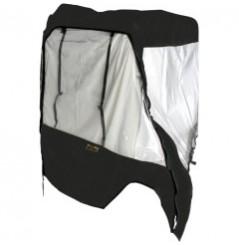 Protection Cabine Toit - 1/2 Porte Souple MOOSE pour SSV Yamaha Rhino 450 (06-09) 660 (04-07) 700 (08-11)