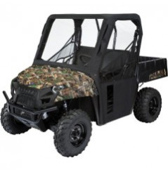 Protection Cabine Toit - Porte Souple MOOSE pour SSV Polaris Ranger 570 - 800 (15-17)
