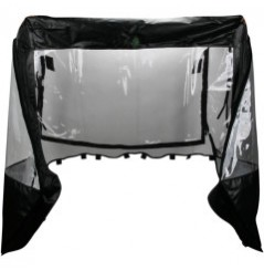 Protection Cabine Toit - Porte Souple MOOSE pour SSV Yamaha Viking 700 (15-17)