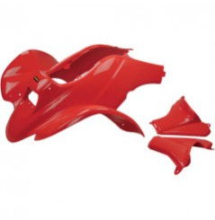 Plastique - Carénage Avant Rouge MAIER pour Quad Honda TRX 250 EX (01-05)