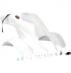 Plastique - Carénage Avant Blanc MAIER pour Quad Honda TRX 250 R (86-89)
