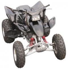 Plastique - Carénage Avant Noir MAIER pour Quad Honda TRX 300 EX (93-06)